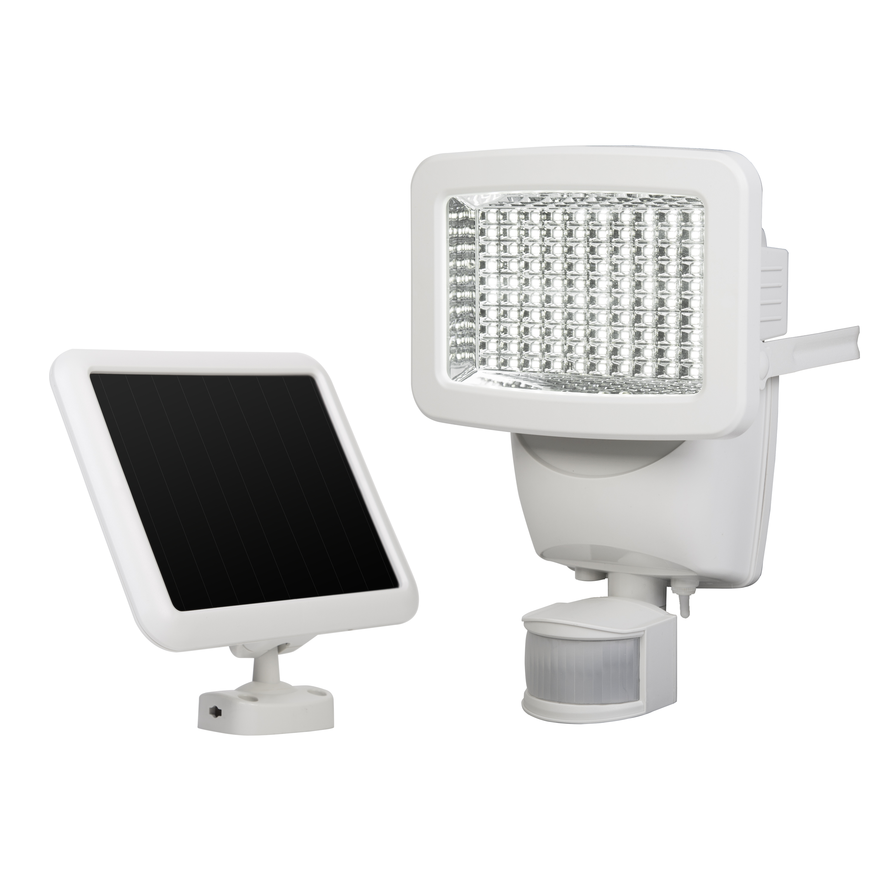 100 Led Solar Motion Light Sunforce Products Inc Flood Wiring Instructions Installing A Remote Detector