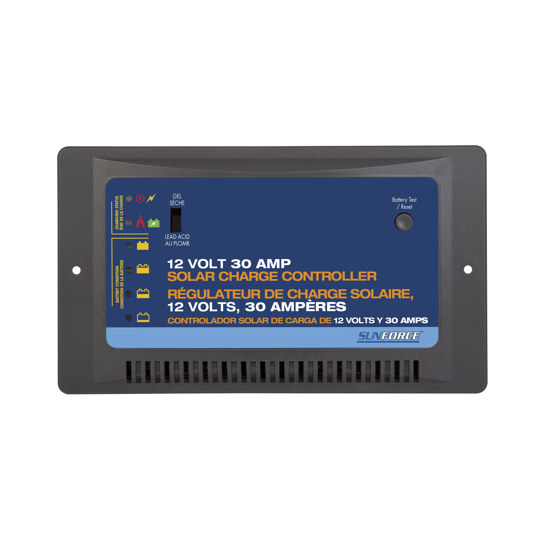 30 Amp 12 Volt Solar Charge Controller Sunforce