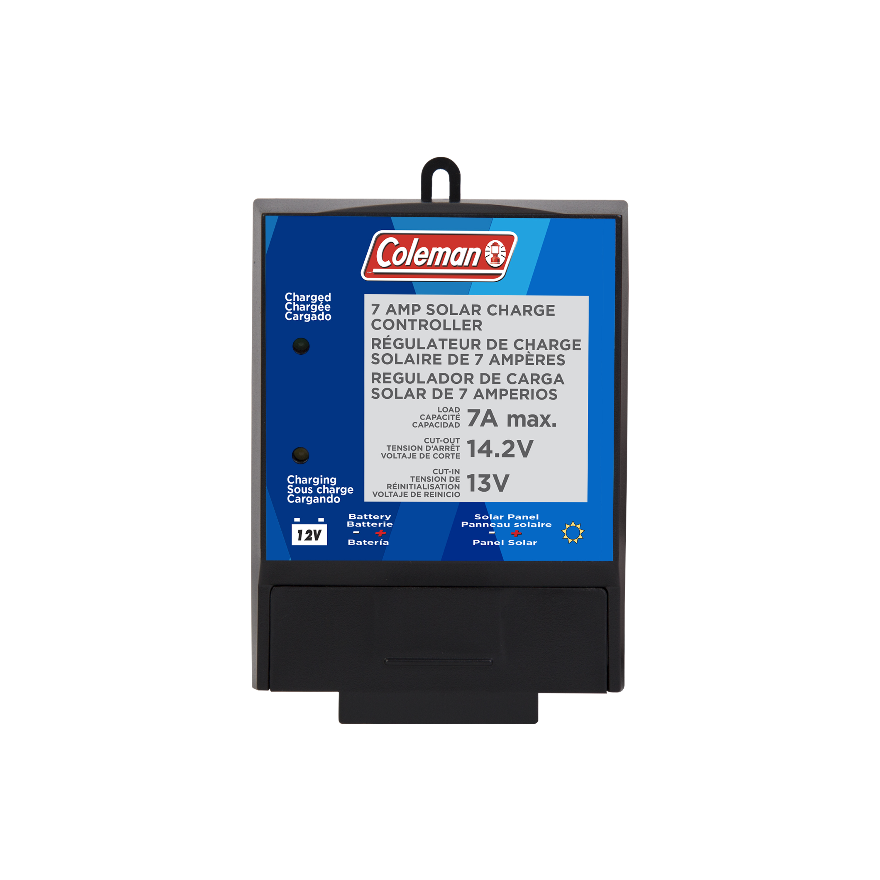 7 Amp 12 Volt Solar Charge Controller Sunforce Products Inc Battery Charger 12v Circuit