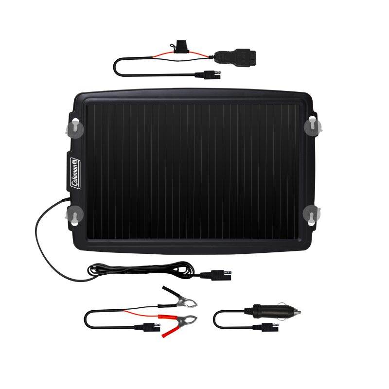 3 5 Watt, 12-Volt Solar Battery Trickle Charger with OBD-II
