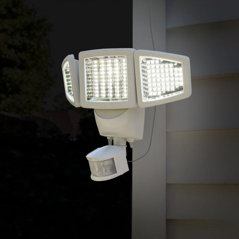 150 Led Triple Head Solar Motion Light Sunforce Products Inc