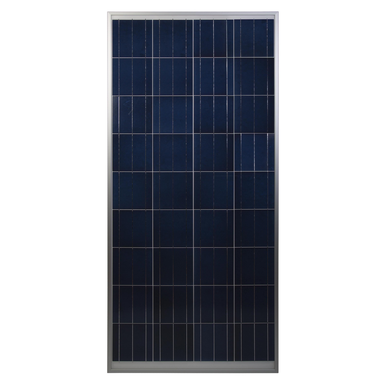 150 watt, 12-volt crystalline solar panel