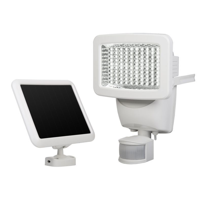 Outdoor Security Lights Costco: 100 LED Solar Motion Light