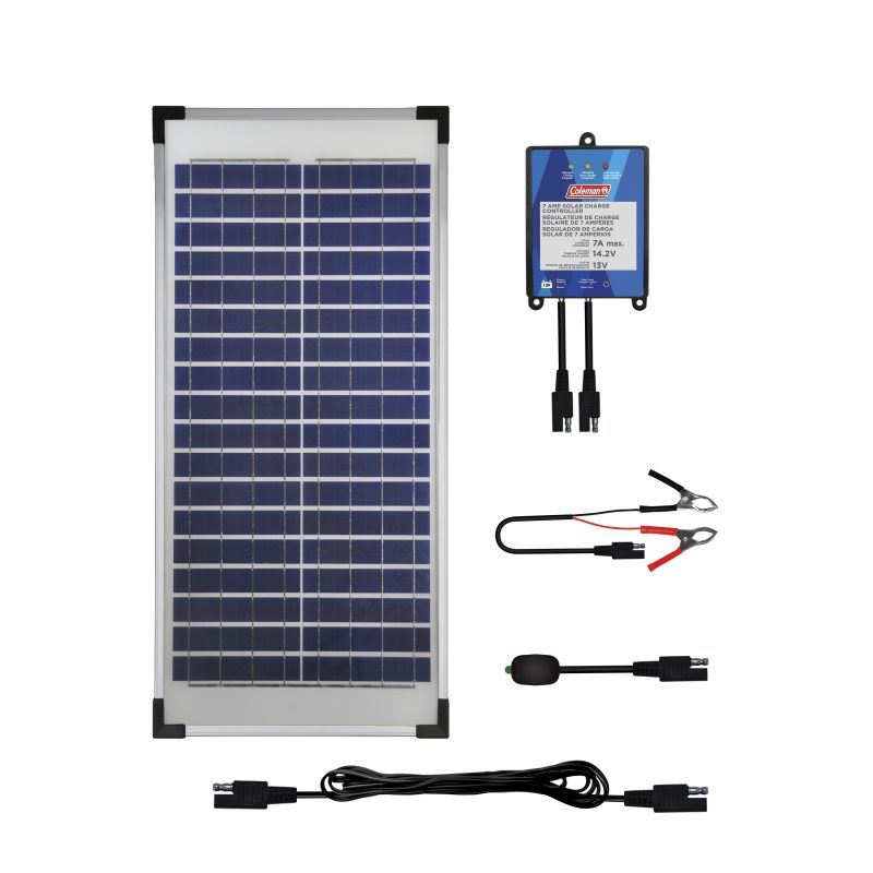 40 Watt 12 Volt Crystalline Solar Panel Sunforce