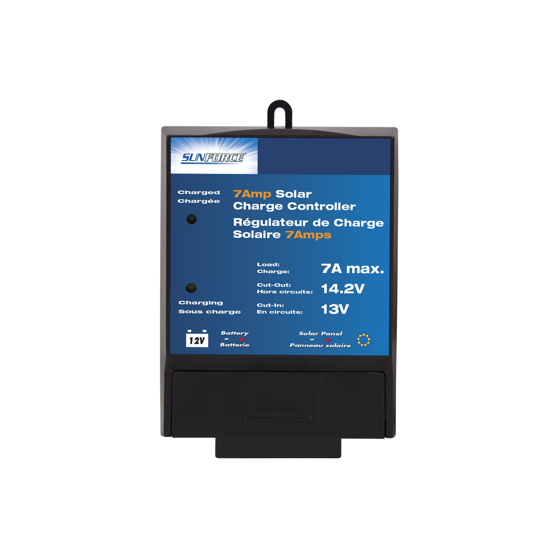 7 Amp, 12-Volt Solar Charge Controller - SunForce Products Inc.