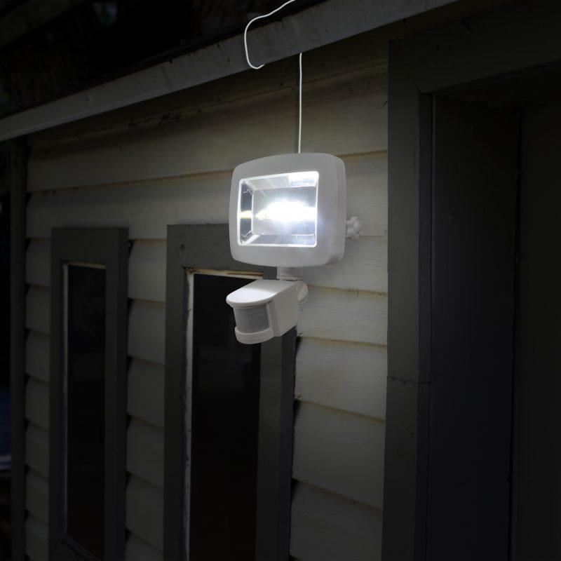 Lampe solaire d tecteur de mouvement cob sunforce - Lampe detecteur de mouvement solaire ...