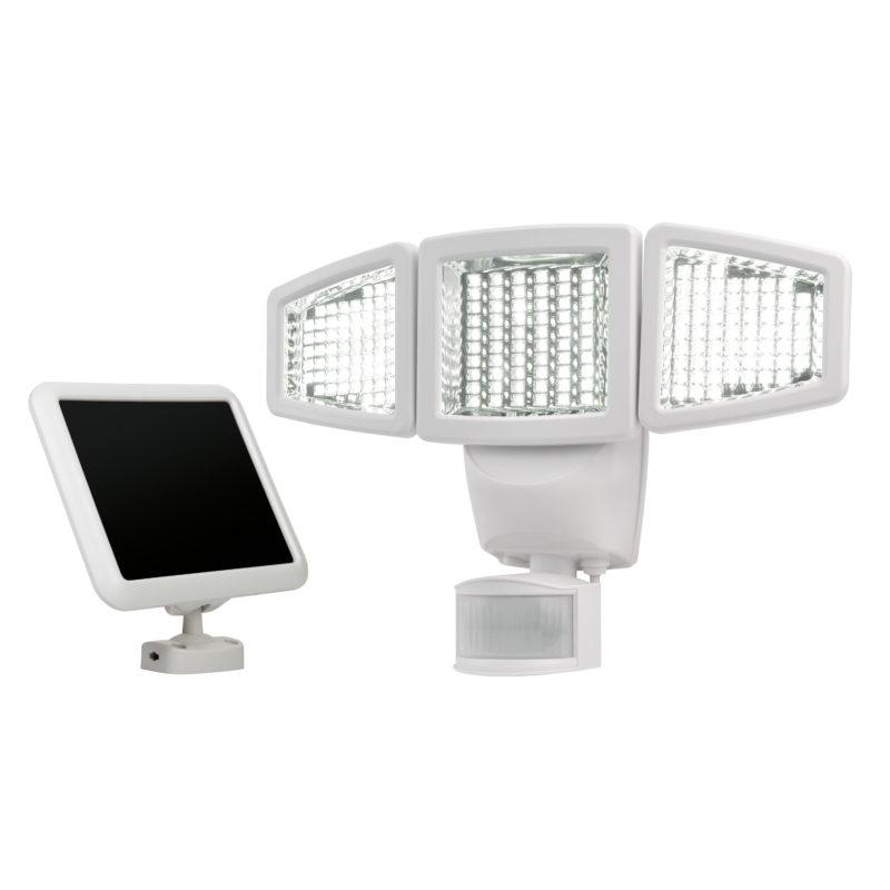 180 led triple head solar motion light sunforce products inc aloadofball Images