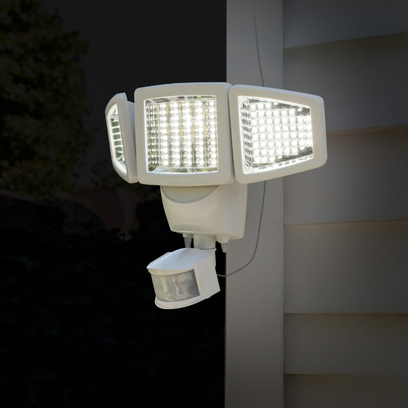 120 Led Triple Head Solar Motion Light Sunforce Products