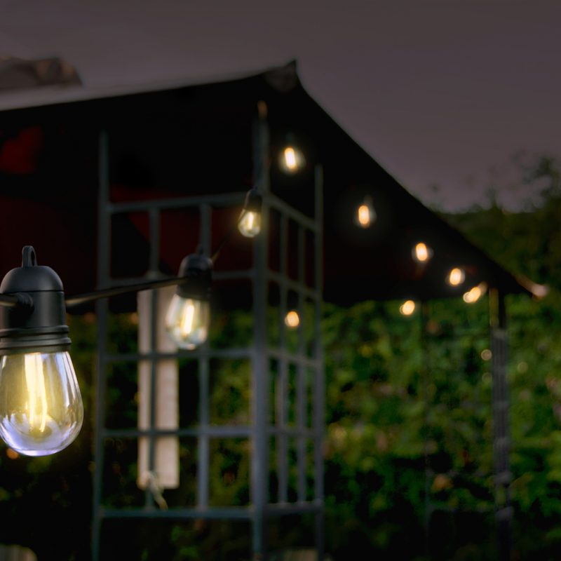 15 Led Solar String Lights Sunforce Products Inc